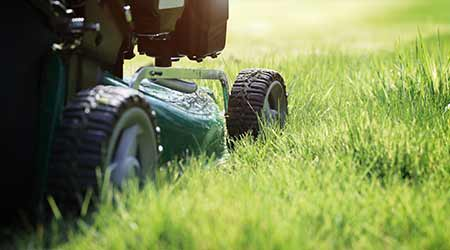 Mower Maintenance Prolongs Performance Life