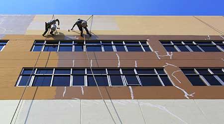 exterior building painters