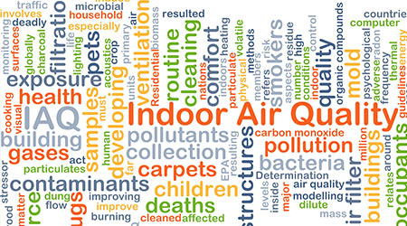 indoor air quality word cluster