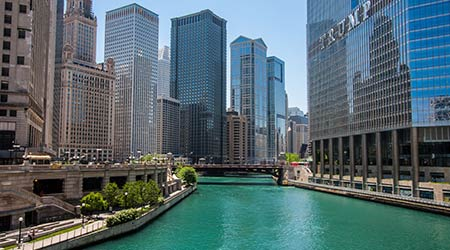 trump tower Chicago clean water