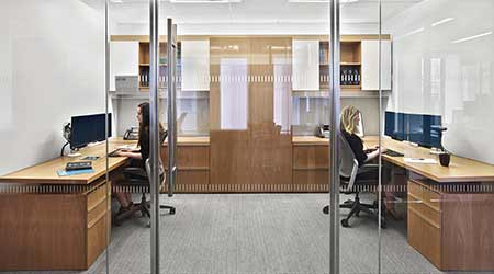 For Office Space Law Firms Think Small Modular Collaborative Facilities Management Insights