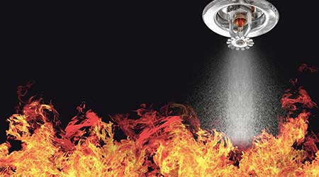 fire sprinkler fire suppression