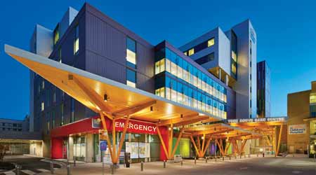 BC Children's Hospital water efficiency