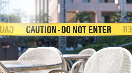 caution area