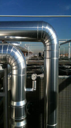 pipes chillers