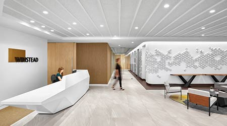 Multipurpose Spaces Highlight New Houston Law Offices