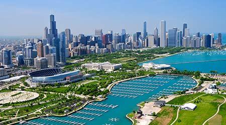 aerial Chicago real estate data