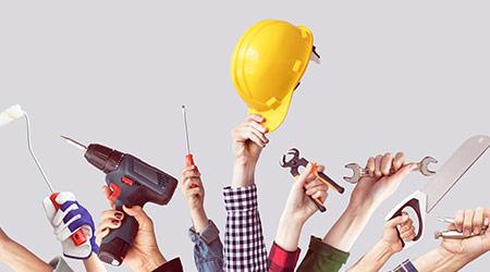Building repair tools