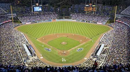 Dodger Stadium, Los Angeles, CA on October 12, 2008