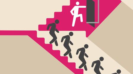 building evacuation, emergency, stairs