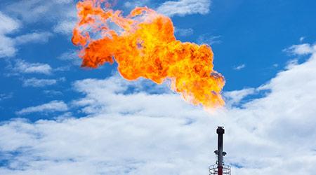 gas flare methane