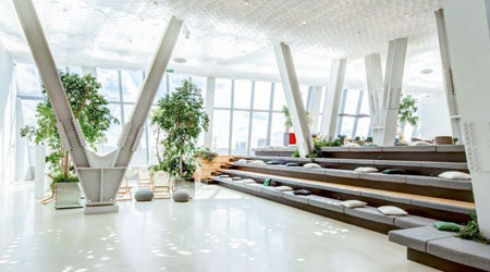 More, Wellness Among Office Design Trends