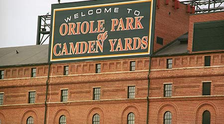 Warehouse at Oriole Park at Camden Yards, which seats 45,480 fans