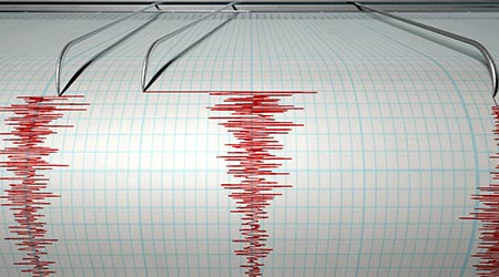 earthquake seismic readout