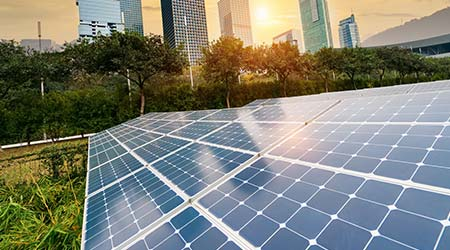 solar panels net zero energy