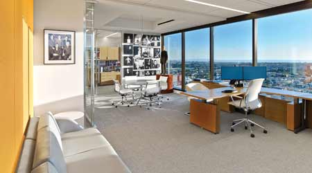 why c suite office space is being pared down facilities management