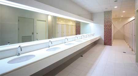 restroom modernization