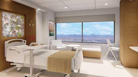 patient room healthcare