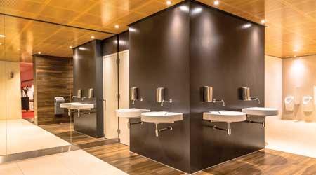 Restroom renovation