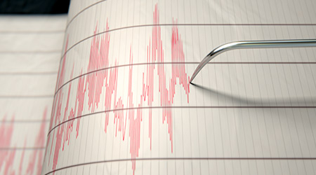 seismic readings
