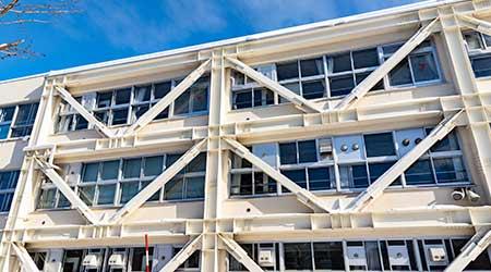 Reinforced buildings
