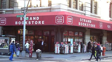 the strand bookstore