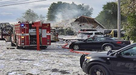 Maine building explosion