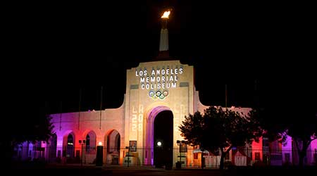 Los Angeles Memorial Coliseum at USC
