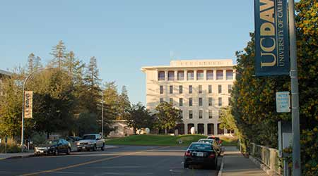 The campus of the University of California