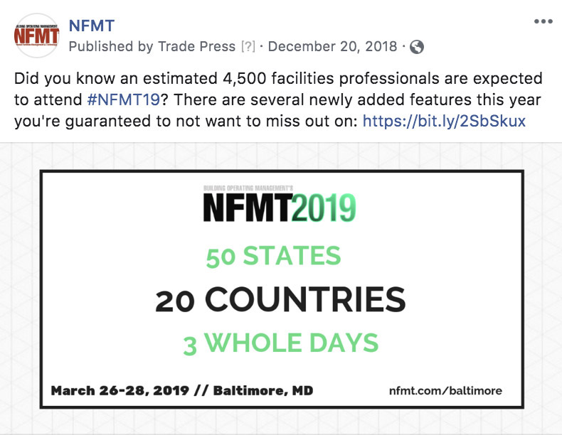 NFMT Baltimore Organic Social Ad