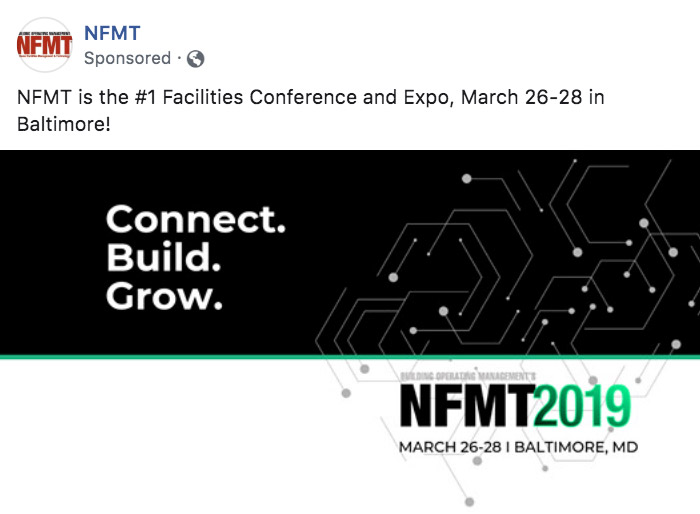 NFMT Baltimore Paid Campaign