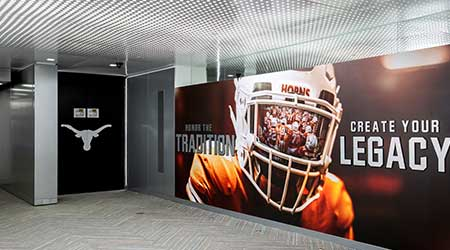 University Of Texas Locker Room