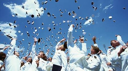 U.S. Naval Academy Graduation Ceremony