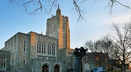 Firestone Library on campus of Princeton University