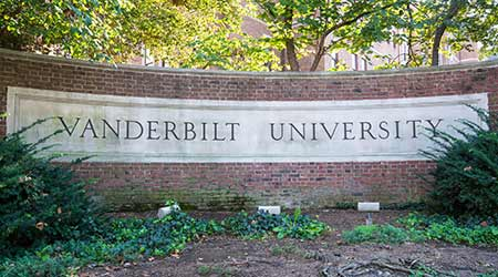 Vanderbilt sign