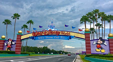 Disney World Entrance