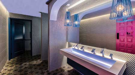 restroom lighting design