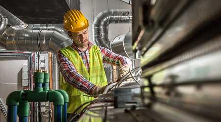 Building maintenance technician