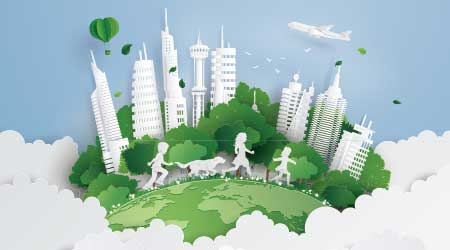 healthy green city