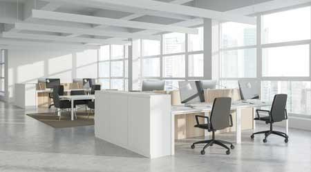 open office empty