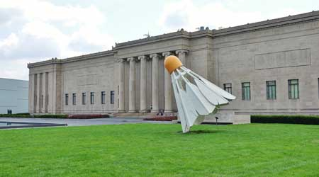 Nelson-Atkins Museum of Art in Kansas City, Missouri