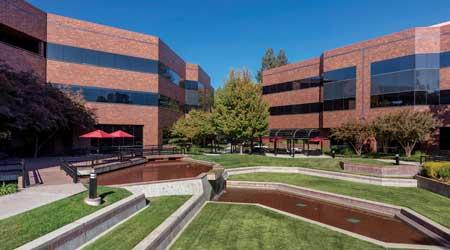 suburban office facility