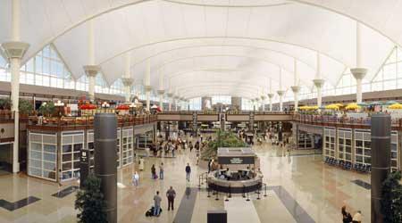 Terminal at Denver International Airport