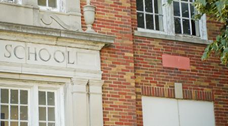 aging school buildings