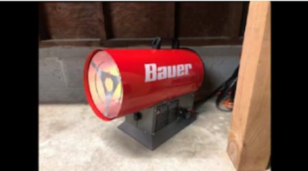 bauer propane heaters